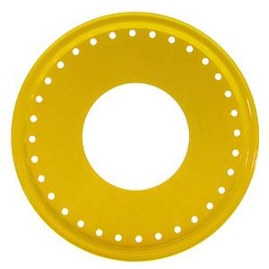 Aero Race Wheels - Aero Race Wheels 54-300018 Yellow Beadlock Wheel Mud Cover