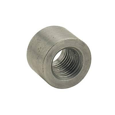 "Fittings & Hoses - Weld In Bungs - Fragola - Fragola 596701 1/8"" NPT Steel Female Weld-In Bung"