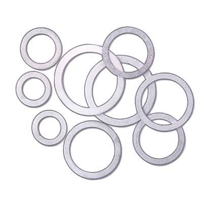 """Fragola - Fragola 999216 .749"""" OD Aluminum AN Crush Washers 16mm Hole (Pack of 10) .050"""" Thick"""