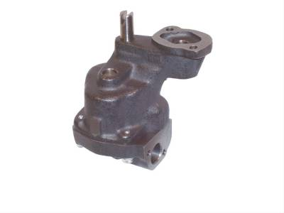 "Melling - Melling 10555ST SBC High Volume/High Pressure Shark Tooth Oil Pump .75"" Inlet Tube"