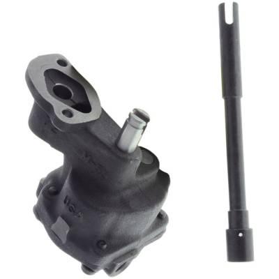 "Melling - Melling 10554 Standard Volume/Standard Pressure Oil Pump 3/4"" Inlet w/ Shaft Small Block Chevy"