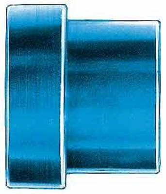 Aluminum AN Fittings - Tube Nuts - Aeroquip Performance Products - Aeroquip FCM3673 -10 AN Tube Sleeve (2 Per Pkg) Blue Anodized Aluminum