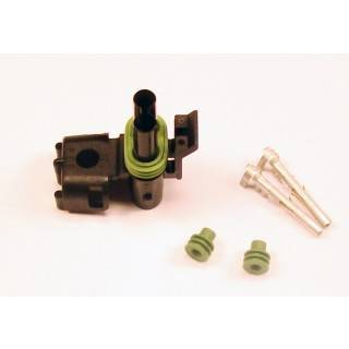 Ignition & Electrical - Wiring Harnesses, Relay Kits, Etc. - American Autowire - American Autowire 500318 Female 2 Way Weather-PAC Connector