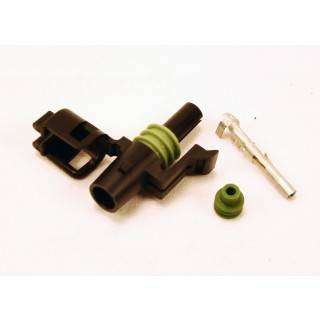 Ignition & Electrical - Wiring Harnesses, Relay Kits, Etc. - American Autowire - American Autowire 500320 Female 1 Way Weather-PAC Connector