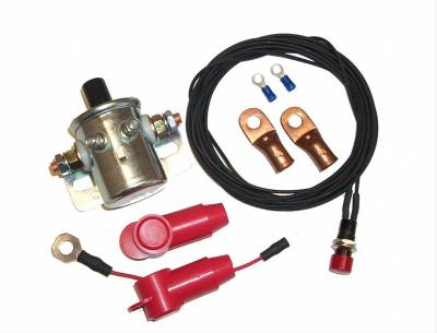 Ignition & Electrical - Wiring Harnesses, Relay Kits, Etc. - American Autowire - American Autowire 500834 Remote Master Disconnect Switch Kit