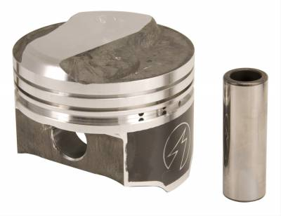 """Pistons & Rings - Pistons - Federal Mogul - BBC Big BLOCK CHEVY 454 Speed Pro .270 Dome Pistons 4.250"""" Bore OC Heads"""