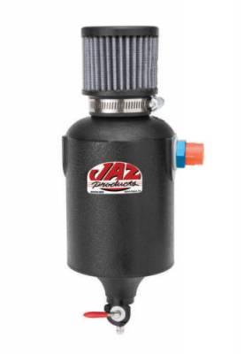 JAZ Products - Jaz 605-825-01 1 Quart Crankcase Breather Filter w/Reusable Breather & Petcock Drain -8AN Fitting - Image 2