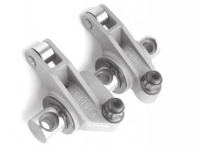 Valvetrain & Camshaft Components - Rocker Arms - Crower - Crower 74503-1 Shaft Mount Rocker Arm Pair #1 Cyl 1.6 Intake 1.5 Exhaust