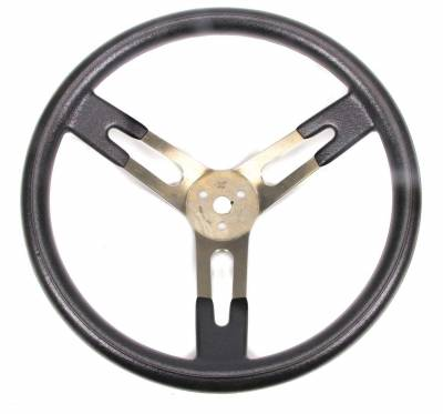 """Sweet Manufacturing 601-70152 15"""" Dished Aluminum Steering Wheel"""