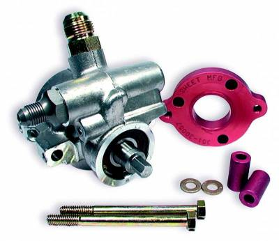 Steering - Power Steering Pumps & Accessories - Sweet Manufacturing - Sweet Manufacturing 325-30057 Barnes To Power Steering Pump Adapter