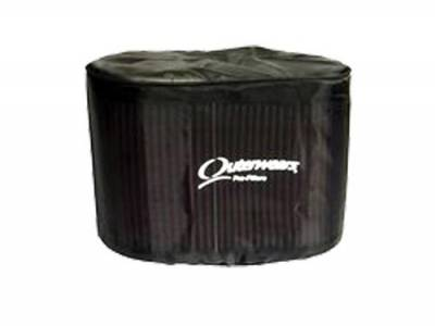 Outerwears Co Inc - Outerwears Co Inc 10-1048-01 Hilborn/K&N RD-4000 Series Tapered Pre-Filter - Black