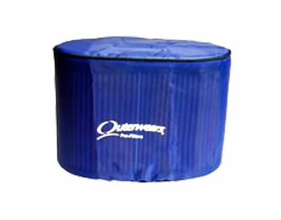 Air Filters & Cold Air Intakes - Pre Filters - Outerwears Co Inc - Outerwears Co Inc 10-1048-02 Hilborn/K&N RD-4000 Series Tapered Pre-Filter - Blue