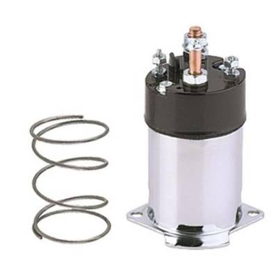 Ignition & Electrical - Solenoids - KMJ Performance Parts - 910-67230 GM Chrome Starter Solenoid
