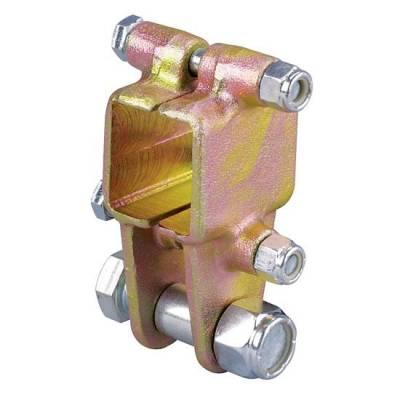 Suspension & Shock Components - Panhard Bars & Mounts - KMJ Performance Parts - 916-45525 Frame-Mount Bolt-On Panhard Bar Mount