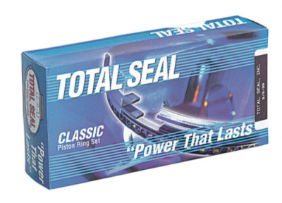 "Total Seal - Total Seal MS-08 3.796"" Bore Custom Gapless Top Ring Piston Ring Set 1.2  1.5  3mm"