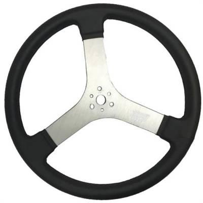 """Steering - Steering Wheels, Quick Releases & Hubs - MPI Steering Wheels - MPI MPI-DR-17  Steering Wheel Dirt Track  Sprint Car & Late Model 17"""" Diameter"""