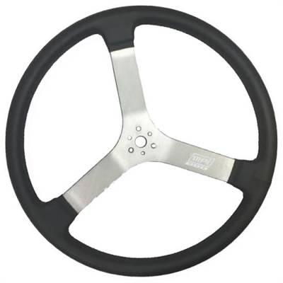 """Steering - Steering Wheels, Quick Releases & Hubs - MPI Steering Wheels - MPI MPI-DMR-17 Steering Wheel Sprint Car & Late Model 1.96"""" Dish 17"""" Diameter"""
