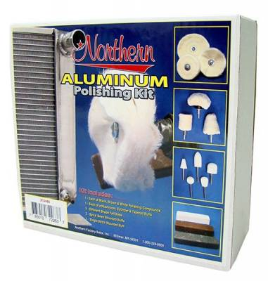 Car Detailing - Wheel, Trim & Tire Care Products - Northern Radiator - Northern Z12450 Aluminum Polishing Kit
