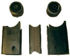 """Suspension & Shock Components - Shock Mounts - Precision Racing Components - PRC F9MB-H Ford 9"""" Metric Bracket Kit For Hobby Stock"""