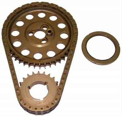"""Valvetrain & Camshaft Components - Timing Chain Sets - Cloyes - Cloyes 9-3100A-10 SBC Hex-A-Just True Roller Timing Chain Set -.010"""" Center"""