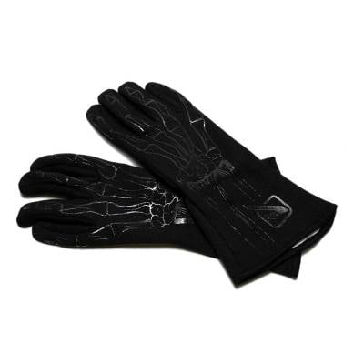Velocita - BLACK Velocita Skeleton 2 Layer Racing Gloves
