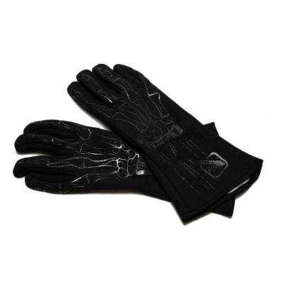 Safety & Seats - Driving Gloves - Velocita - BLACK Velocita Skeleton 2 Layer Racing Gloves