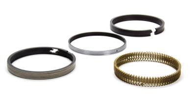 "Total Seal - Total Seal CRG0010-5 Plasma-Moly Classic Race Piston Ring Set SBC 4.000"" Bore .043 0.043  3mm"