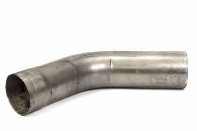 """Headers & Exhaust  - Collectors, Elbows, Hangers & Turn Downs - Schoenfeld - Schoenfeld 3542 Exhaust Pipe 3.5"""" Diameter 42 Deg Elbow 10"""" Long"""
