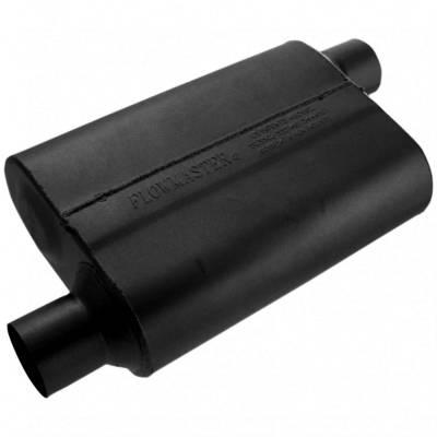 """Headers & Exhaust  - Mufflers - Flowmaster - Flowmaster 42543 40 Series Muffler 2.5"""" Offset Inlet/Offset Outlet"""