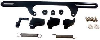 Racing Power Company  - RPC R5451BK Throttle Cable Bracket Fits 4500 DOMINATOR Base Carburetor