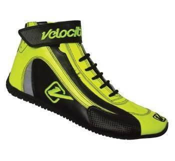 Safety & Seats - Shoes - Velocita - FLO YELLOW Velocita Hot Racing Shoes