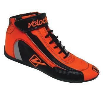Safety & Seats - Shoes - Velocita - ORANGE Velocita Hot Racing Shoes
