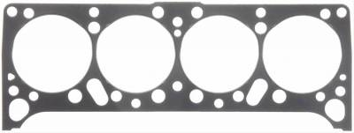 """Engine Gaskets - Cylinder Head Gaskets - Fel-Pro Gaskets - Fel-Pro 1016 Head Gasket Permatorq/Blue 4.300"""" Bore 1959-1979 Pontiac 389 400 421 455"""