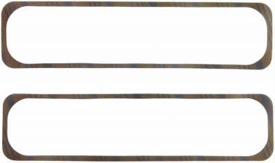 Fel-Pro Valve Cover Gaskets SBC Vortec Center Bolt Pattern-Molded Rubber w/ Steel Core