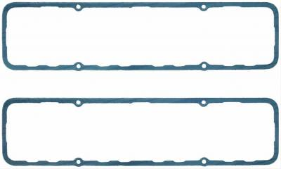 "Engine Gaskets - Valve Cover Gaskets - Fel-Pro Gaskets - Fel-Pro Composite Steel-Core Valve Cover Gaskets Small Block Chevy 18 & Brodix .094"" Thick"