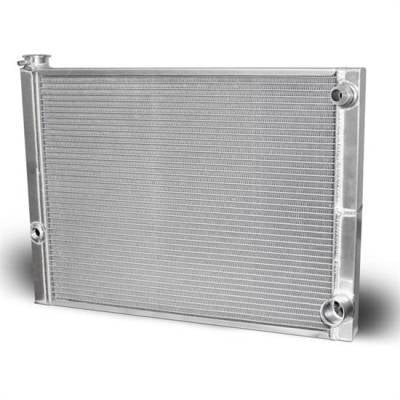"Cooling - Radiators - AFCO - AFCO  80100NDP-16  Double Pass Radiator 19""X22""  -16AN Inlet"