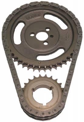 "Valvetrain & Camshaft Components - Timing Chain Sets - Cloyes - Cloyes 9-3100-5 SBC True Roller Timing Chain Set - .005"" Undersize"