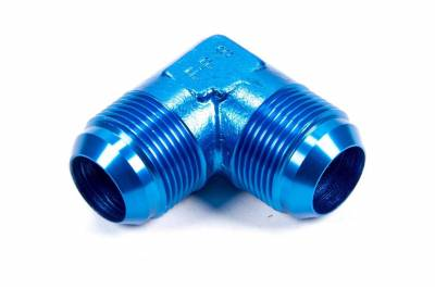 Aluminum AN Fittings - 90 Degree Flare Union Fittings - Fragola - -16 X 90 DEG MALE UNION BLK