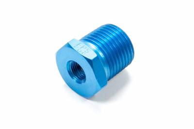 Aluminum AN Fittings - NPT Pipe Bushing Reducer Fittings - Fragola - 1/8 X 1/2 REDUCER BUSHING