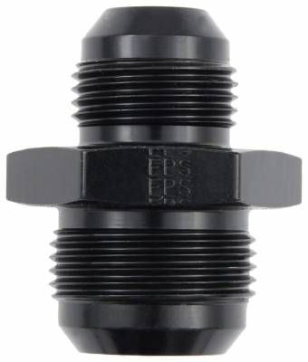 Aluminum AN Fittings - Male Flare Reducer Fittings - Fragola - -16 X -12 MALE REDUCER BLK