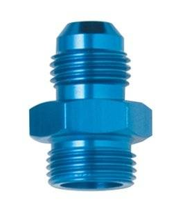 Fragola - Fragola 491951 6 AN to 9/16-24 Male Adapter Fitting Holley IMCA USRA NHRA