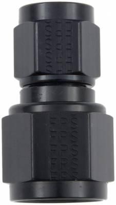 Aluminum AN Fittings - Female Flare Swivel Fittings - Fragola - -8 X -10 FEMALE CONNECOR BLACK