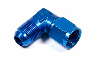 Aluminum AN Fittings - Female to Male 90 Degree Swivel Fittings - Fragola - -10 FEMALE TO MALE SWIVEL