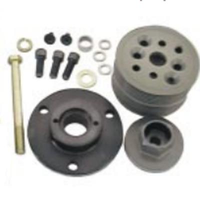 Steering - Power Steering Pumps & Accessories - KRC Power Steering - KRC Block Mount Serpentine Kit-Missing Lower Pulley & Belt-Sold as is!
