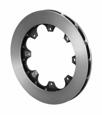"Wilwood - Wilwood 160-13978 ULHD 16 Curved Vane 0.99"" Rotor Plain Face R/H"