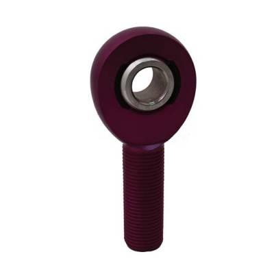 """QA1 - QA1 AMR8-10PU Purple AM Series Aluminum Male Rod End RH 1/2"""" x 5/8""""-18"""