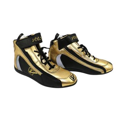 Safety & Seats - Shoes - Velocita - GOLD Velocita Hot Racing Shoes