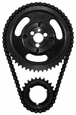 Valvetrain & Camshaft Components - Timing Chain Sets - SA Gear - Dynagear - SA GEAR 73036-3 BBC CHEVY HD Double Row Timing Chain 396 402 427 454 3 Keyway