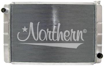 Northern Radiator - Northern 209677 GM Chevy Aluminum Crossflow 2-Row Radiator 31 x 19 Race Pro IMCA