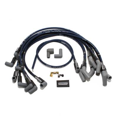 Moroso - Moroso 73673 Ultra 40 Spark Plug Wires Ford 351W Windsor HEI Male Boot Terminals